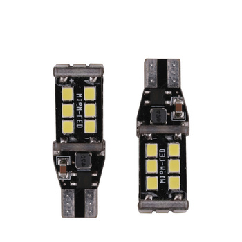 1x New 7.5w T15 LED Reverse Light W16W 15SMD Car LED NO ERROR Back UP light rear Lamp white Car styling